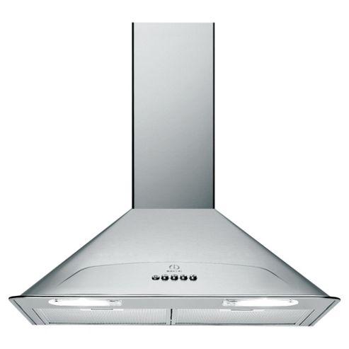 Indesit H573LIX 70cm Chimney Hood Stainless Steel