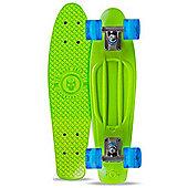 Madd Gear Skins Retro Cruiser - Lime/Blue