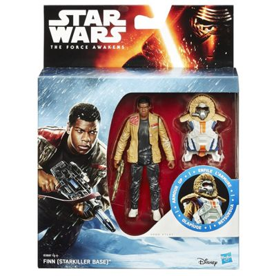 Star Wars The Force Awakens Armour Up 9cm Finn Figure - Action Figures
