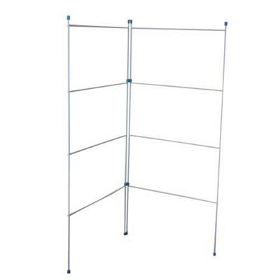 Bakaware A07 Clothes Horse 2Fold 20in