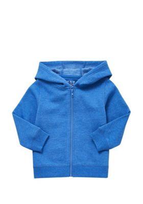 F&F Zip-Through Hoodie Blue 12-18 months