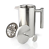 Café Ole Satin 6 Cup Double-wall Straight Sided Cafetiere