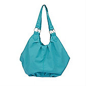 OBaby Pompom Changing Bag (Turquoise)