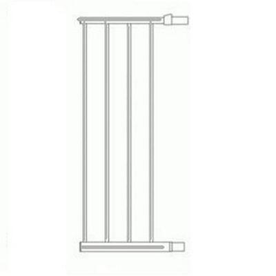 Lindam Sure Shut Extension Silver 28cm