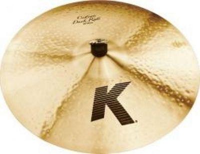 Zildjian K Custom Dark Ride Cymbal (20in)