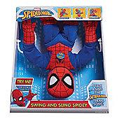 Marvel Spiderman Swing & Sling Spidey Feature Plush