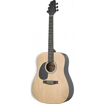 Rocket Left Handed Acoustic Guitar In Natural