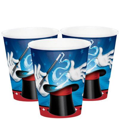 Magic Party Paper Party Cups - 266ml