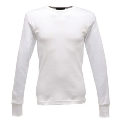 Regatta L/S Thermal Vest White L