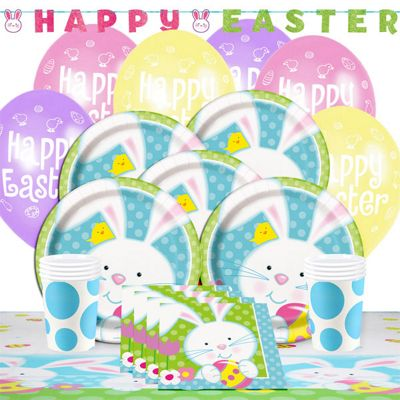 Easter Bunny Party Pack - Deluxe Pack for 8