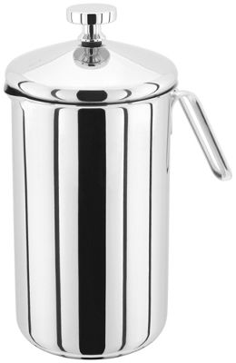Judge Single Wall Stainless Steel 8 Cup 1 Litre Cafetiere