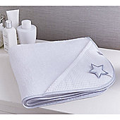Clair de Lune Luxury Hooded Towel (Silver Lining)