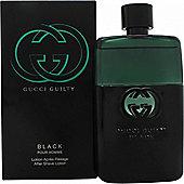 Guilty Black Pour Homme Aftershave Lotion 90ml Splash For Men