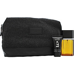 Azzaro Pour Homme Gift Set 50ml EDT + 30ml Aftershave Balm + Toiletry Bag For Men