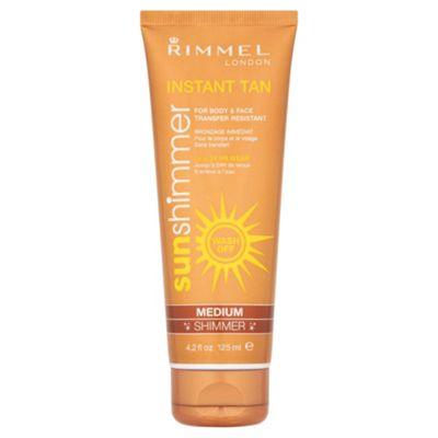 Rimmel Sun Shim Instant Tan M/Upmed Shim 125Ml