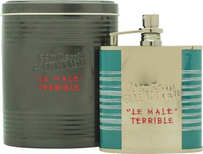 Jean Paul Gaultier Le Male Terrible Eau de Toilette (EDT) 125ml Spray (Travel Flask) For Men