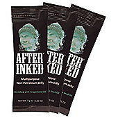 After Inked Non-Petroleum Jelly for Tattoos, Piercings 7G PACKET 50-PC - Vegan