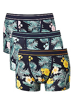 F&F 3 Pack of Hibiscus Flower Hipsters with As New Technology - Multi