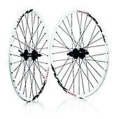Wilkinson Mach 1 MX Disc / Deore 475 Disc 8/9 Speed MTB White Wheelset