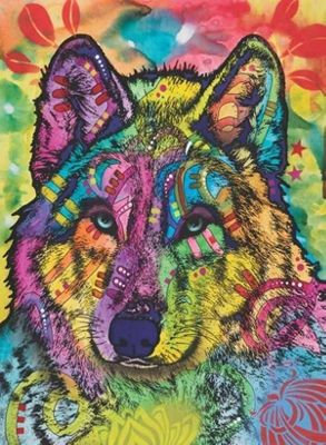 The Stare of the Wolf - 1000pc Puzzle