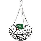 1 X Kingfisher 12-Inch Hanging Flower Basket Garden Pathway