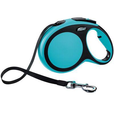 Flexi Comfort Tape Retractable Lead 8m Large - Blue