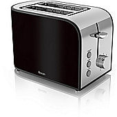 Swan 2 Slice Toaster - Black