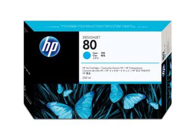 HP 80 Ink Cartridge - Cyan