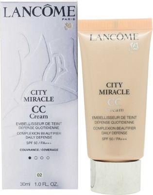 Lancôme City Miracle CC Cream SPF50 30ml - 02 Peau du Pêche