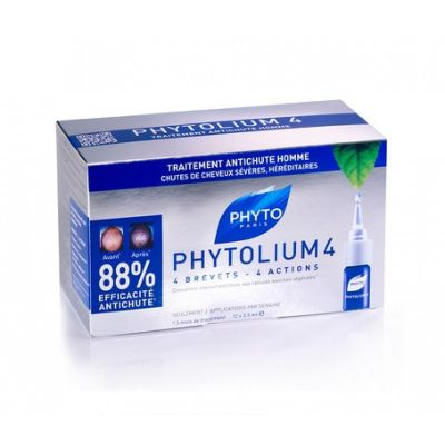 Phyto Phytolium 4 Chronic Hair Thinning Treatment 12