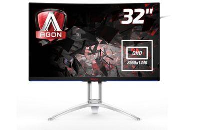 AOC AGON AG322QCX 31.5 QHD MVA144Hz Free-Sync Curved Gaming Monitor