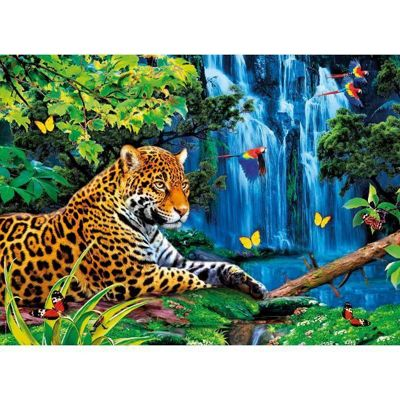 Jaguar Jungle - 1000pc Puzzle