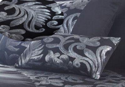 Grace filled cushion - black - petite