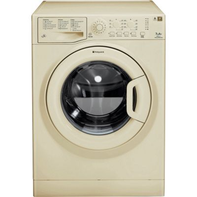 Hotpoint WMAQL721A 1200rpm Washing Machine 7kg Load, Classic Cream