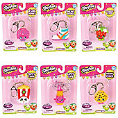 Shopkins Dangler Keyring (Complete set of 6)