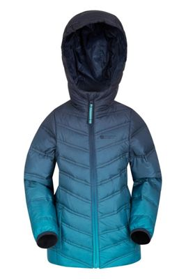 Mountain Warehouse Frost Girls Down Padded Jacket ( Size: 5-6 yrs )