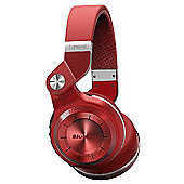 Bluedio T2+ Bluetooth stereo headphones wireless headphones in Red