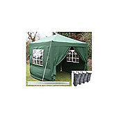 Airwave Pop Up Gazebo Fully Waterproof 2.5x2.5m in Green