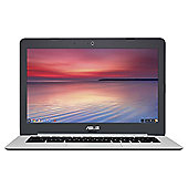 Asus Chromebook C301 13.3 inch Celeron Laptop 4GB Ram 32GB HDD with Google Play - Glacier Grey Metal
