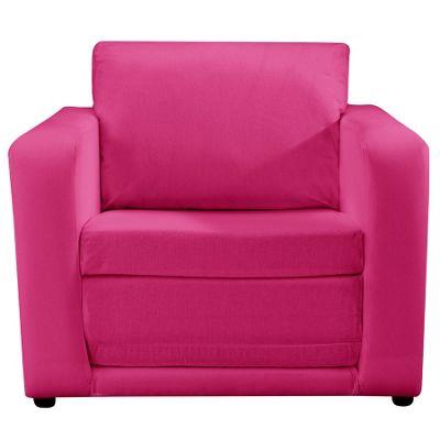 Children's Chair Bed - Pink