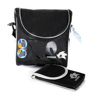 Sonic Gamer Case Black