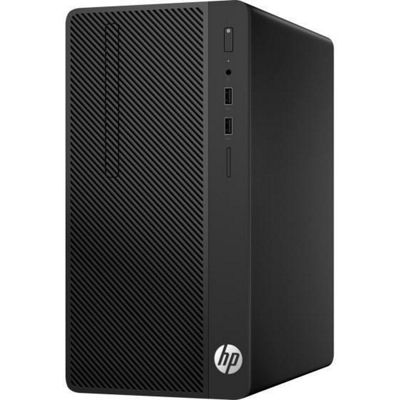 HP Business Desktop 290 G1 Micro Tower Desktop Intel Core i3 Not Included Windows 10 Pro Integrated Graphics