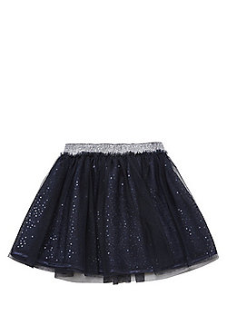 F&F Mesh Sequin Tutu Skirt - Navy