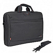 "tech air Carrying Case (Briefcase) for 35.8 cm (14.1"") Notebook - Black"