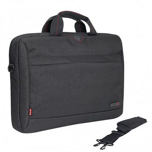 Techair 1204 Toploading Modern Classic Laptop Bag (Black) for 13 inch - 14.1 inch Laptops