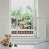 BabyDan Configure Gate White