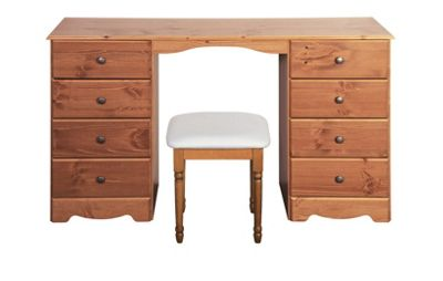 Steens Milford Dressing table + stool Pine