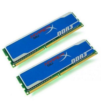 Kingston HyperX Blu 8GB (2 x 4GB) Memory Kit DDR3 1333MHz Non-ECC CL9 240-pin DIMM