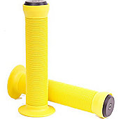 Eco Toadstool Neon Yellow BMX/Scooter Handlebar Grips