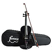 Forenza Uno Series 3/4 Size Black Violin Outfit
